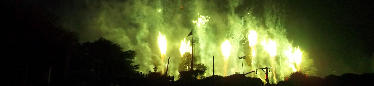 Big time fireworks
