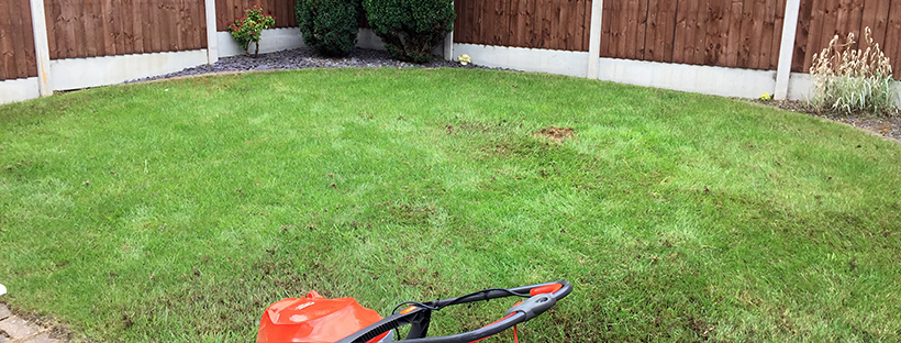 Dominate the neighbours – Mow No. 4 and fertiliser application