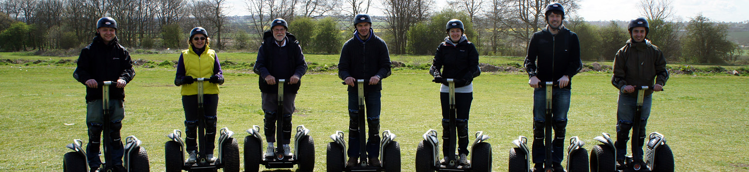 Segways off road