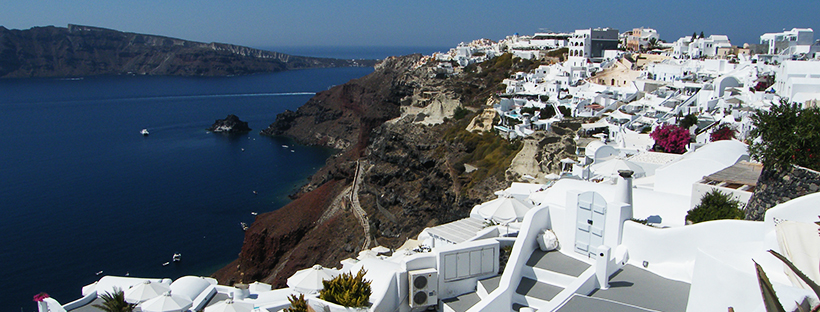 The long walk to Oia