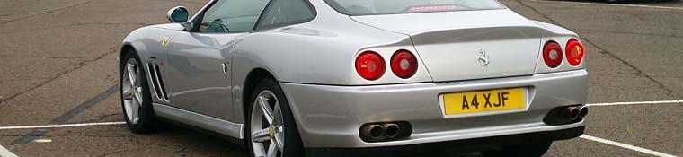 In a Ferrari frenzy